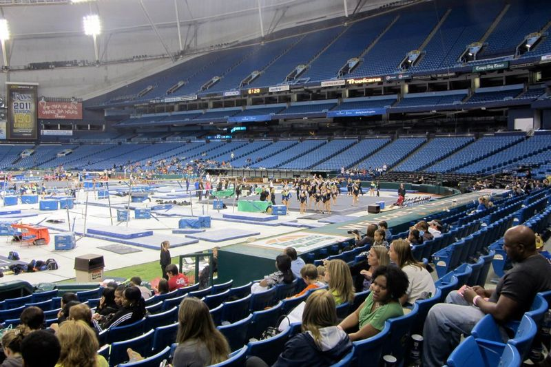 Gymnastics at tropicana field
