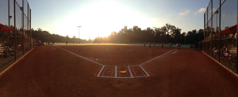 Sunrise softball