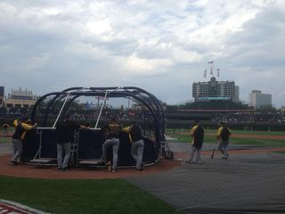 BP at Wrigley